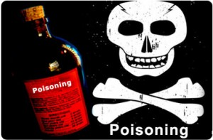 first aid management for poisoning